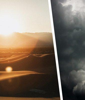 Небо сломалось и показало три солнца.Это редкое природное явление, и у предсказателей есть плохие новости
