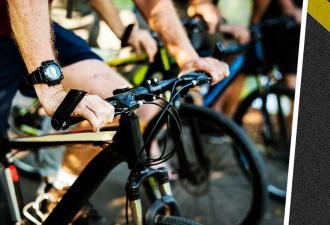 Люди устроили велозабег, но их обогнал Призрачный гонщик. Ему не нужен был велик, чтобы показать, кто лидер