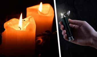 Парень показал самовозгорающуюся свечу, и это тру-делюминатор. Иногда наука может в чудеса не хуже Дамблдора