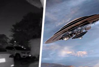 В небе пролетел треугольный объект, и, кажется, пора звонить Малдеру. Ведь заметила НЛО не только видеокамера