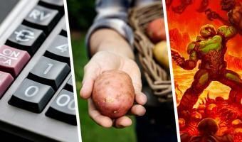 Геймер запустил Doom на калькуляторе, питаемом энергией картошки. Люди не поняли зачем, но верят: он гений