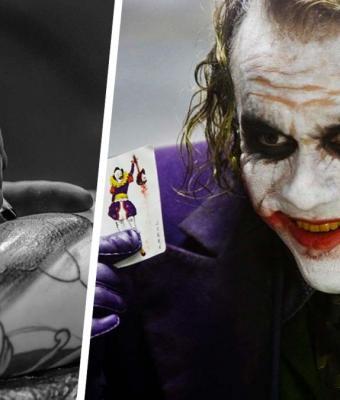 Парень хотел тату с лицом Джокера, но вышел фейл. Ещё бы: плечо украсил доктор Купитман из «Интернов»