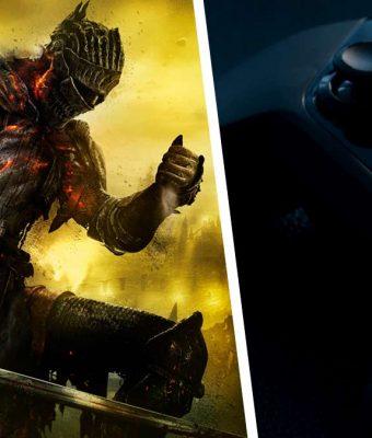 Стример собрал гаджет, чтобы играть в Dark Souls максимально кроваво. Геймеры верят: такое 5D они заслужили