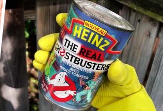 Блогер показал, что внутри банки консервов «Охотники за привидениями» 1992 года. Нет, не Лизун, намного хуже