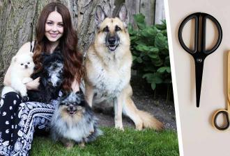 Девушка показала на видео, как стрижёт собак, и это вовсе не весело. Она точно заслуживает чаевых, решили люди