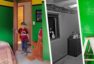 Родители покрасили комнату сына, но такой реакции не ожидали. Мальчику хватило одной фразы — и «Оскар» уже его