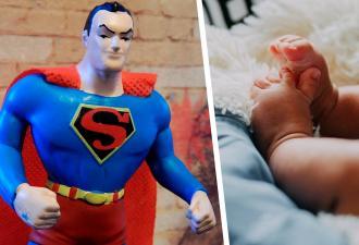 Мальчик родился размером с фигурку Супермена. Но он сам стал героем и разрушил прогнозы врачей