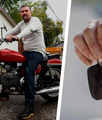 Хозяин годы искал угнанный мотоцикл, но всё было тщетно. Байк нашёлся сам, и загадки «Твин Пикс» тут отдыхают