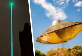 Люди увидели в небе столб света и решили: пришельцы атакуют. Но бить тревогу рано — разгадка оказалась земной