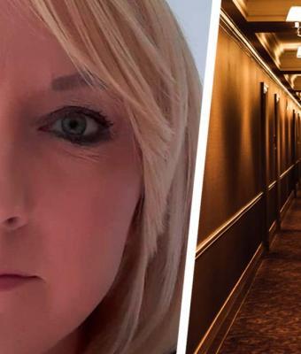 Женщина сняла номер в отеле и попала в хоррор. Там не косплеили «1408», просто бывший жилец — не человек