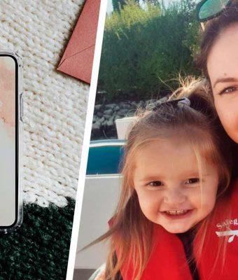 Мама оставила дочь со своим телефоном на пару минут. Малышке хватило и этого, чтобы разрушить её репутацию
