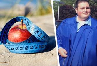 Парень так много ел, что потерял сознание. Но именно это заставило его сбросить 120 кг и превратиться в атлета