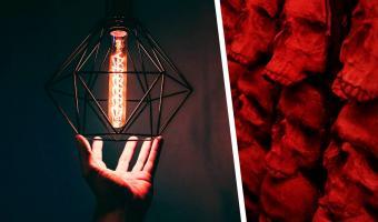 Мужчина показал свою лампу, которая не даёт ему спокойно жить и спать. Взглянув на неё, люди поняли его страх