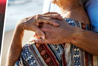 Внучка показала молодых бабушку и дедушку, но люди недолго ими восхищались. Правда сменила очарование грустью