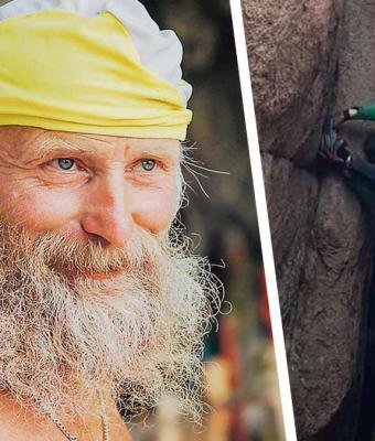 Найден Человек-паук: он живёт в России и ему 70 лет. Его альпинизм вверх ногами лишил иностранцев дара речи