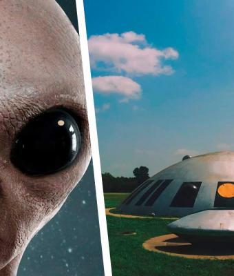 Люди ждали контакта с НЛО, но напрасно. Когда они нашли гуманоида, стало ясно: его вместе с ними кто-то надул