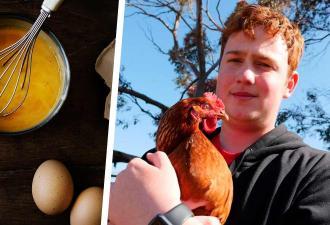 Парень решил позавтракать, но его ждал сюрприз. Утренняя яичница оказалась единственной на 25 миллионов