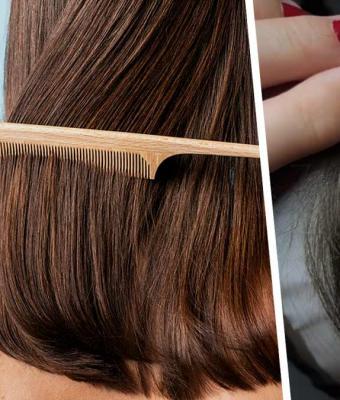 Девушка нашла применение выпавшим волосам, и людям от него больно. Это парик, но надеть его хочет не каждый