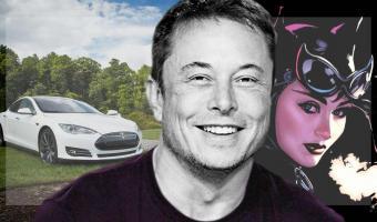 Илон Маск спросил, нужна ли людям девушка-кошка от Tesla. И в реплаях разгорелся пожар из артов и мемов