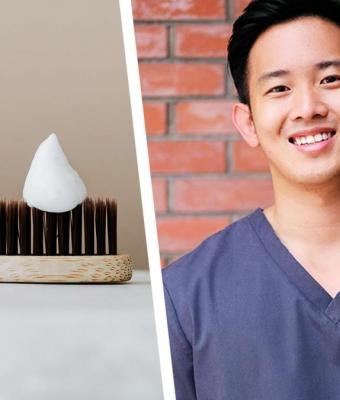 Стоматолог показал, сколько зубной пасты нужно выдавливать на щётку. И, кажется, мы чистили зубы неправильно