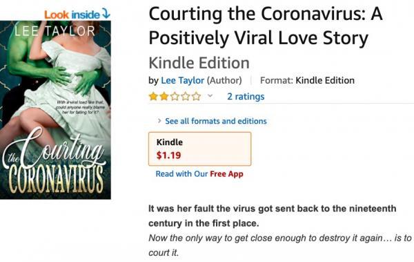 В романе про COVID-19 всего 16 страниц, но его невозможно забыть. Залог успеха - зелёный мужчина на обложке
