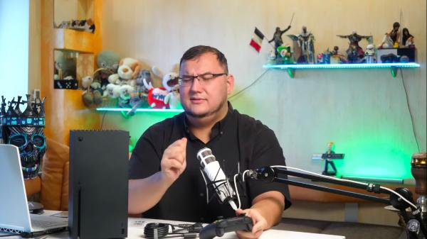 Антон Логвинов хотел поиграть в новый Xbox Series X, но не дала аллергия. Казалось бы, при чём здесь персики