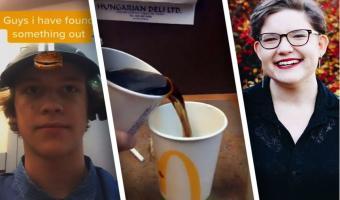Блогер показал, как «Макдоналдс» обманывает людей с напитками. Зря: журналистка парой видео уличила его во лжи
