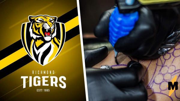 Болельщик сделал тату в честь команды, но слегка ошибся. С таким рисунком ему лучше не показываться на поле