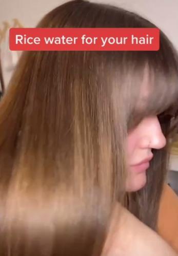 Девушка сварила рис и вылила его себе на голову. Правильно сделала: посмотрев в зеркало, она себя не узнала
