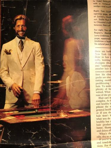 Сын листал старые журналы из 70-х и увидел на страницах фото отца. Всё бы ничего, но в руках парня был Playboy