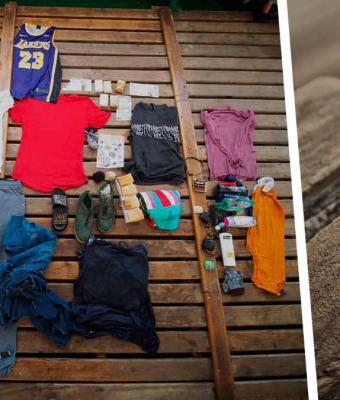Моряки нашли посреди моря рюкзак с вещами. Узнав историю владельцев, они перестали плакать над мелодрамами