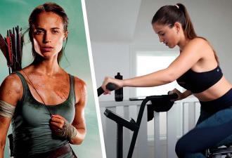 Девушка 45 дней тренировалась как Томб Райдер, и результаты впечатляют. Так вот почему Лару Крофт не победить