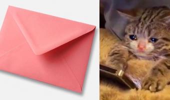 Парню пришло особое письмо от почтальона, и оно разбивает сердце. А всё потому, что оно последнее