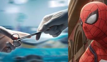 Мама-врач подарила маленькому сыну Человека-паука. Но, чтобы достать игрушку, понадобилось кесарево сечение