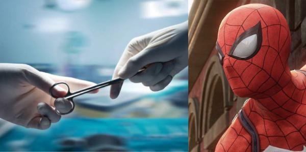 Мама-врач подарила маленькому сыну Человека-паука. Но чтобы достать игрушку, понадобилось кесарево сечение