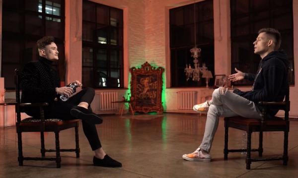 На интервью к Юрию Дудю пришёл рэпер Моргенштерн. А перед зрителями дилемма: кого из них хейтить больше