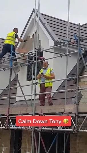 Работодатель не заплатил строителю, и тот отомстил. Разрушительной силе его молотка позавидовал бы даже Тор