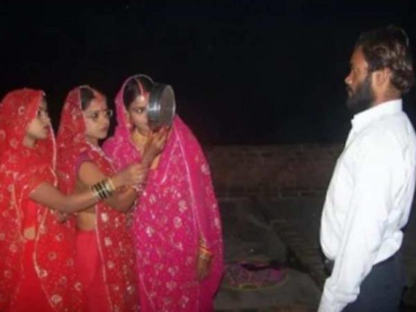 Три сестры вышли замуж в один день и стали ещё ближе, чем раньше. Просто они теперь замужем за одним мужчиной