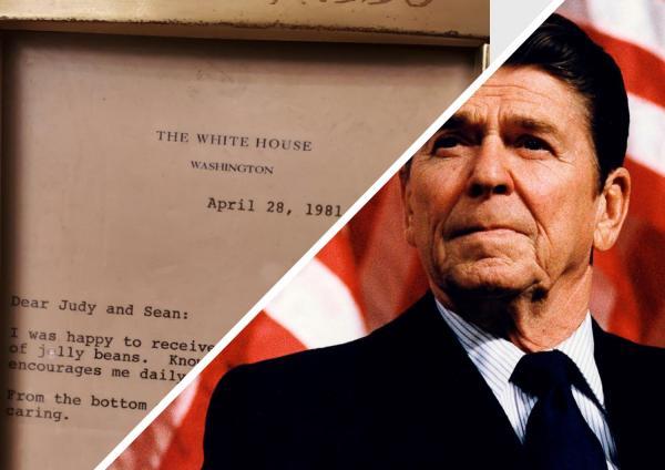 Отец написал письмо Рональду Рейгану и понял: президенты тоже люди. Ответ экс-лидера США - соринка в глазу