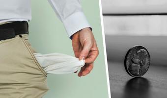 Дедушка проходил с монетой в кармане 50 лет, и теперь её не узнать. Нужно постараться, чтобы такую потратить