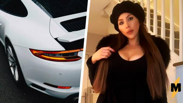 Модель купила Porsche за $108 тысяч, но радость была короткой. Салон авто уничтожила ошибка начинающих богачей