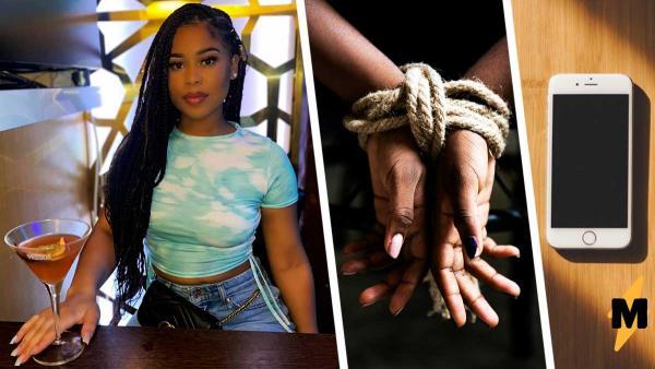 Девушка спасла похищенного ребёнка, ей помог храбрость и телефон. После этого видео страшно выходить на улицу