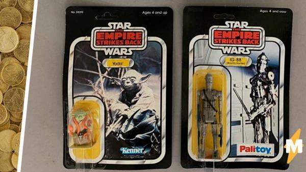 Сосед завещал супругам игрушки Star Wars, и те думали, что это хлам. Зря - их стоимость удивила даже экспертов