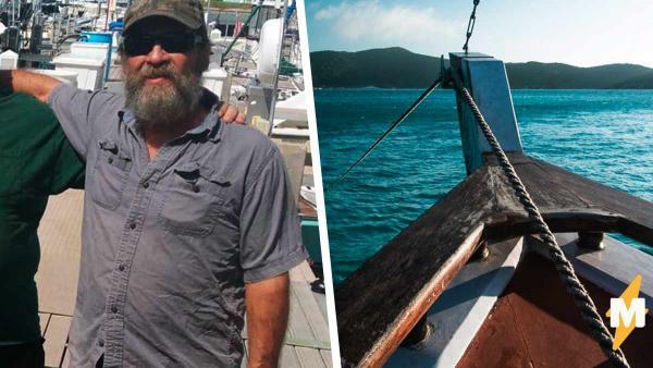 Моряк застрял в море на куске лодки. Одно движение - смерть, но, доплыв до места, спасатели не поверили глазам