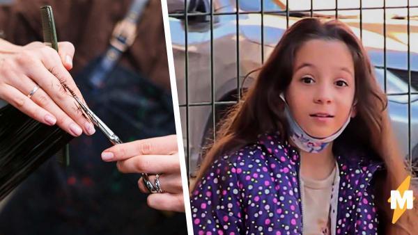Маленькая девочка растила косу как у Рапунцель, но лишилась волос. Поступок сделал её героиней в реальном мире