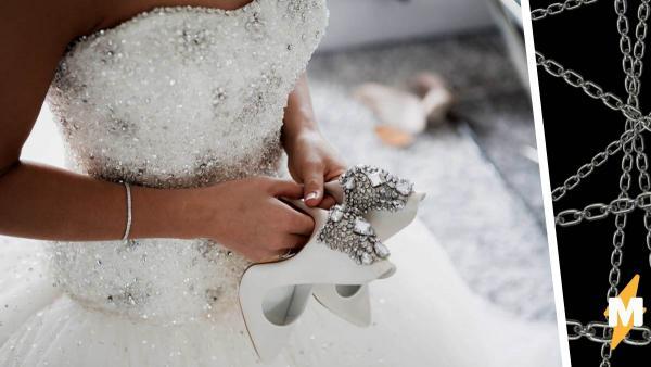 Невеста показала своё платье, но людям от него плохо. Такому наряду место не на свадьбе, а в камере пыток