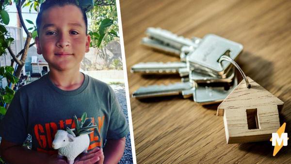 Бездомный открыл своё дело и купил маме квартиру. Его бизнес под силу даже ребёнку, ведь ему самому восемь лет