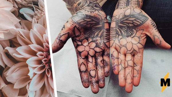 Женщина провела 10 суток в кресле татуировщика и утонула в чернилах.