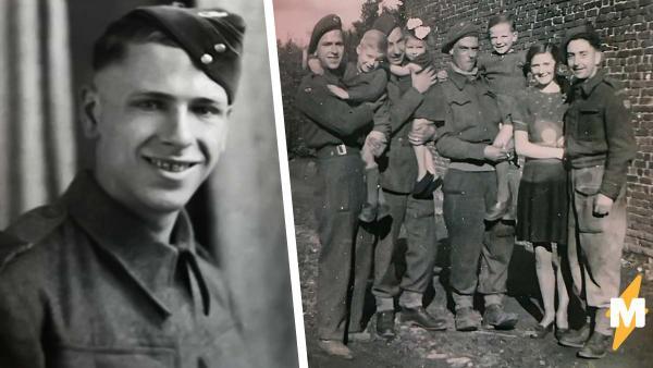 Дочь увидела военное фото отца и разыскала его друга. Они повторили снимок, но одна деталь разбивает сердце