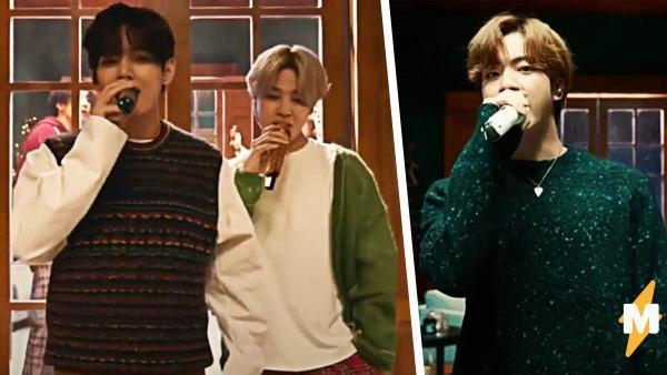 BTS выступили на шоу Джеймса Кордена и, возможно, дали фанам пасхалки. Но разгадать их оказалось непросто